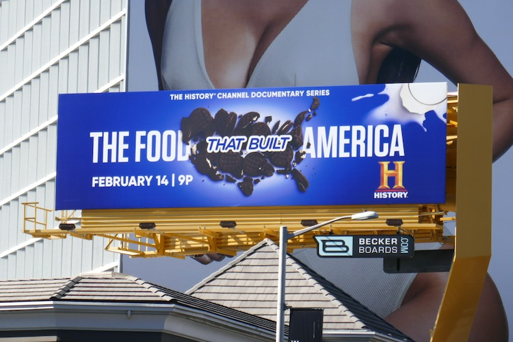 Food That Built America Oreos billboard