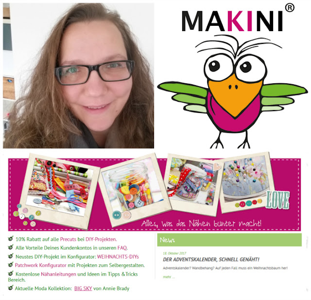 Mein Tischläufer Erni & Interview mit Kirsten von MAKINI (Werbung)