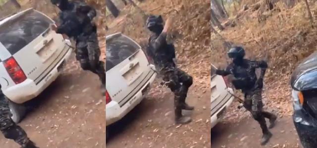 Video: Con su mejores pasos y antes de da la vida Sicarios de El Tigre del Cártel de Sinaloa bailan con equipo táctico y armas antes e enfrentarse a los del CJNG