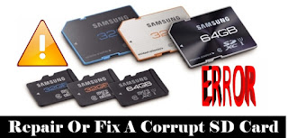 Repair Or Fix a Corrupt SD Card