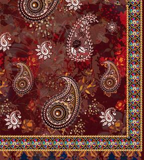 Paisley-print-textile-design