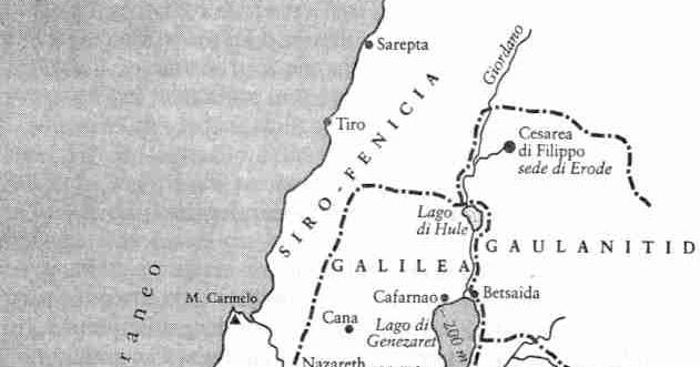 Cartina Muta Della Palestina.Rossorubin La Palestina Ai Tempi Di Gesu
