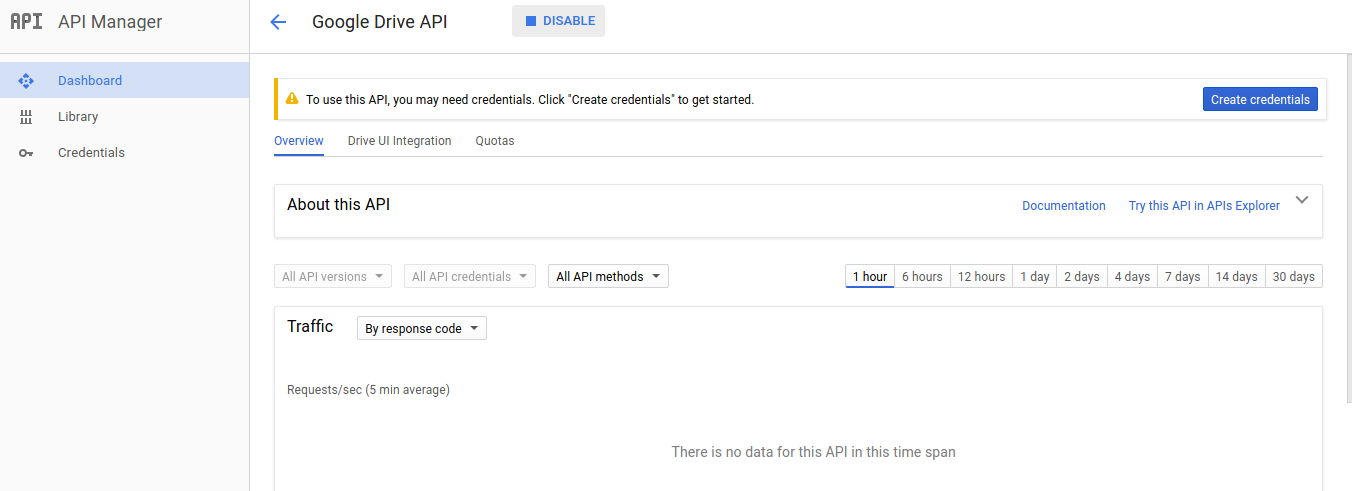 Google-drive as Docker container | allskyee