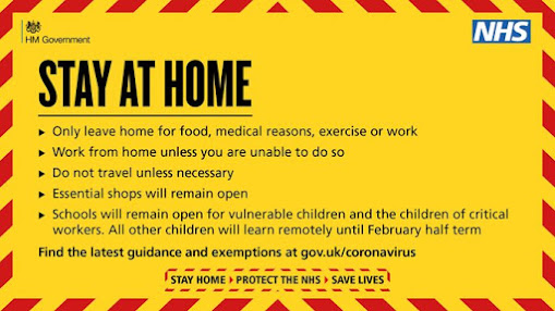 Stay at home guidance UK Govt