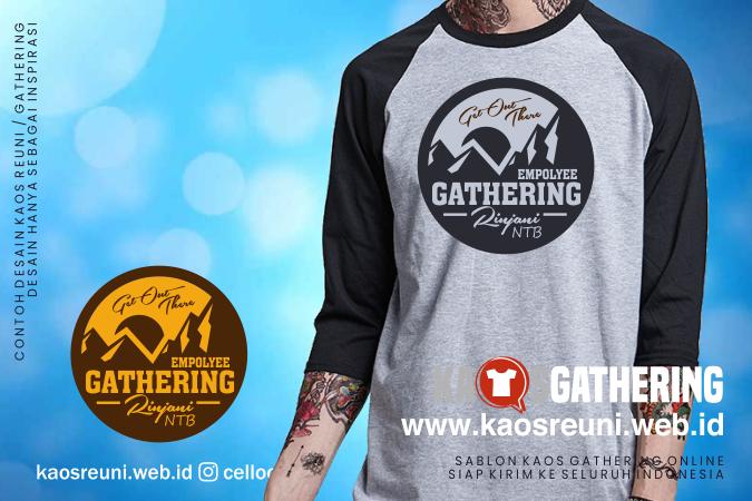 Rinjani  - Kaos Family Gathering - Kaos Employe Gathering