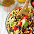 Black Bean and Avocado Salsa with 2 Kinds of Corn