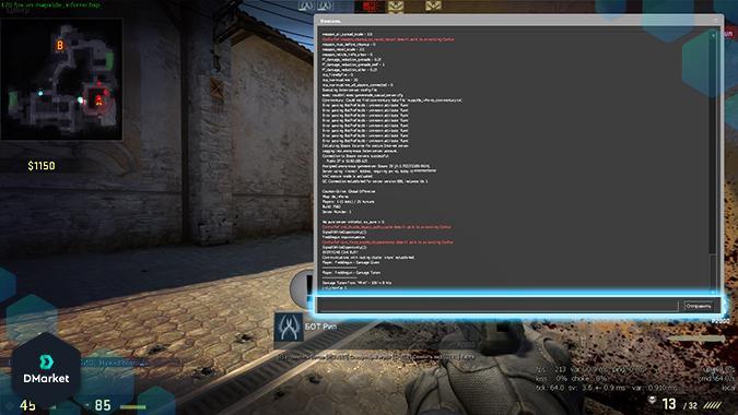 Comandos de console mais úteis do CS:GO