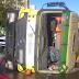 В Києві перекинувся 40-тонний бетонозмішувач - сайт Святошинського району