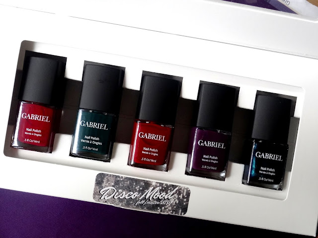 Gabriel Cosmetics Disco Mood 10-Free Nail Polish Collection