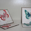 Easel Card Schmetterling