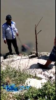 Mayat Lelaki Tanpa Identitas Ditemukan Di Muara Sungai Besini