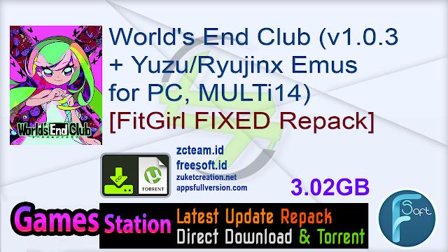 World's End Club (v1.0.3 + YuzuRyujinx Emus for PC, MULTi14) [FitGirl FIXED Repack]