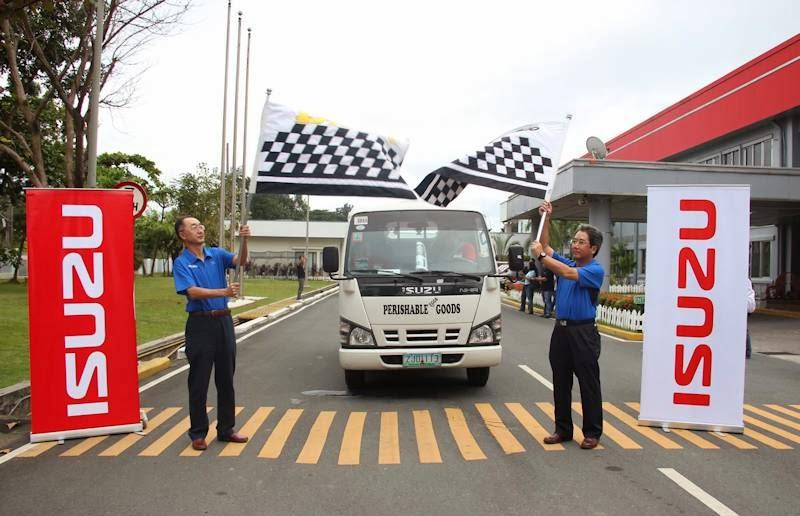 Isuzu N-Series Takes Part in Fuel Efficiency Run