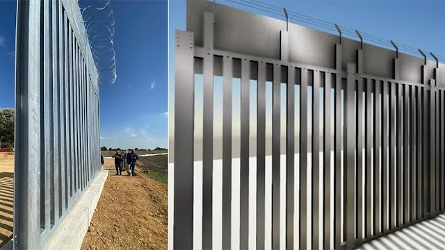 «Φρούριο» με 6 κινήσεις ο Εβρος: Φράχτης-Ηχοβολιστικά-Τεθωρακισμένα-Παρατηρητήρια (ΦΩΤΟ-ΒΙΝΤΕΟ)