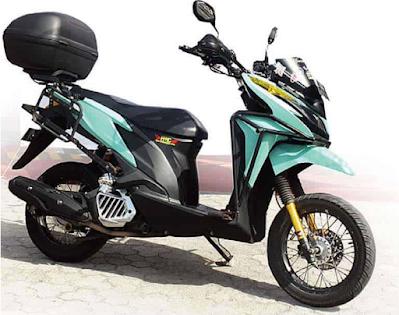 Modifikasi Motor Touring Vario 125