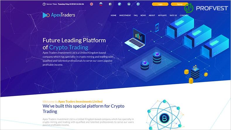 Apex-Traders обзор и отзывы HYIP-проекта