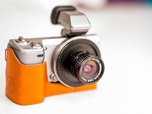 Lensa Pentax 110 pada Kamera Mirrorless Sony NEX-5N