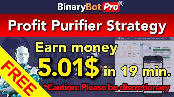 Profit Purifier Strategy | Binary Bot Pro
