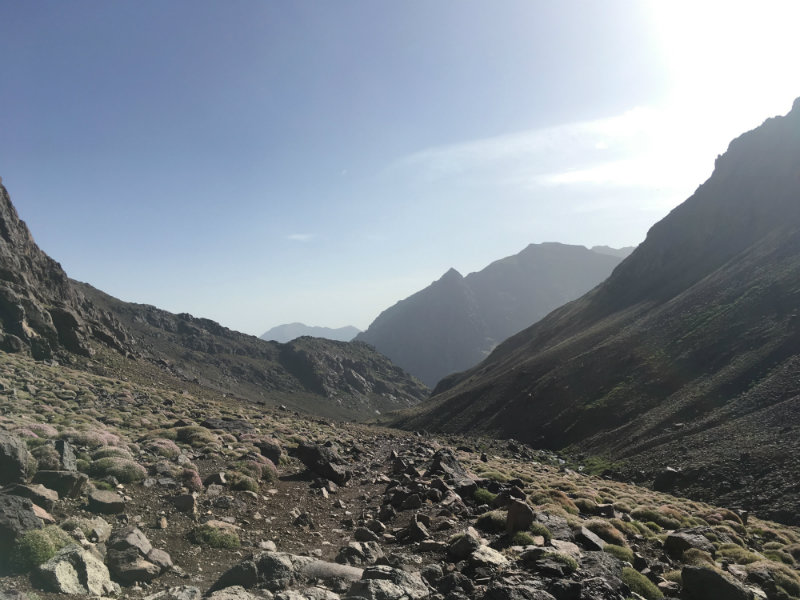 beklim Toubkal start in Imlil
