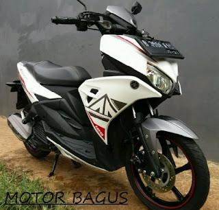 Harga motor Aerox 125 second bulan ini