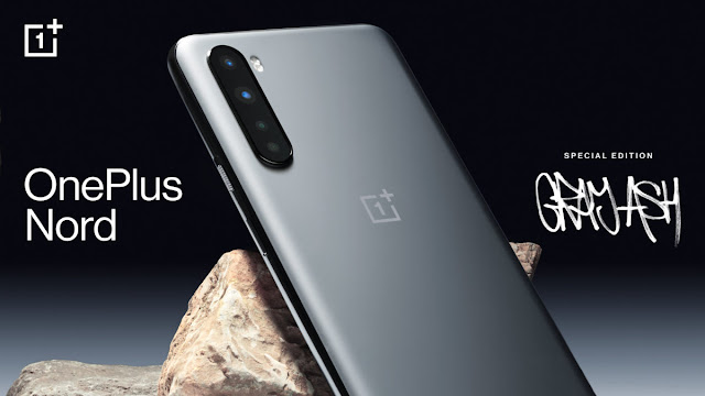 The OnePlus Nord special edition will be Gray Ash.