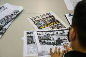 Hong Kong Tycoon Jimmy Lai warns Apple Daily pro-democracy newspaper to shut down Within Days