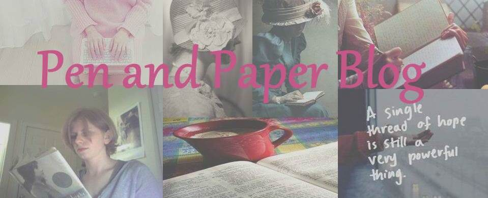 Pen and Paper Blog: Dan Stevens