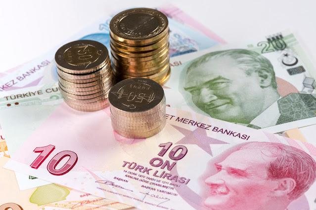هيجان الليرة التركية وسعر الصرف مقابل العملات العالمية واسعار الذهب في تركيا اليوم