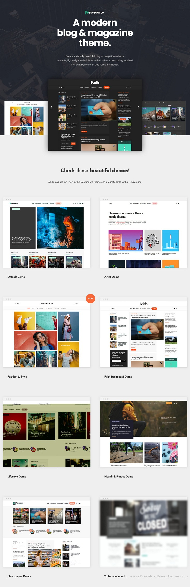 Multi-Concept Blog Magazine Premium WordPress Theme