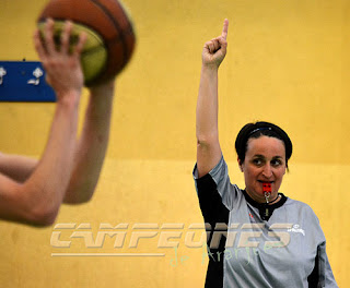Arbitro Liga Local Baloncesto Aranjuez