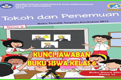 Kunci Jawaban Buku Siswa Tema 3 Kelas 6 Tokoh dan Penemuan