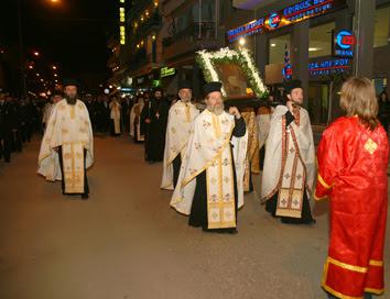 Πρόσκληση εορτασμού του Ιερού Ναού Ευαγγελισμού της Θεοτόκου Ηγουμενίτσας