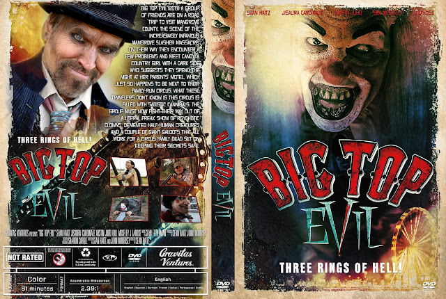 Big Top Evil  DVD Cover