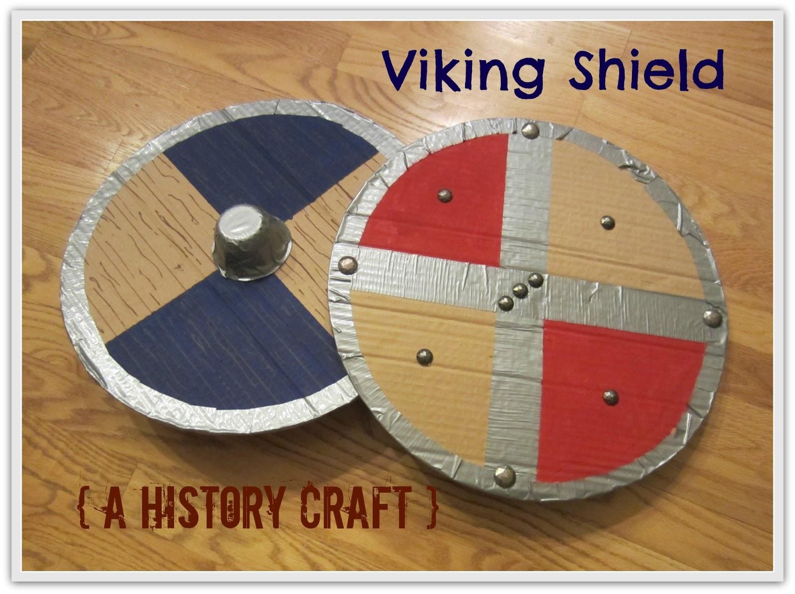 Relentlessly Fun Deceptively Educational Viking Shield