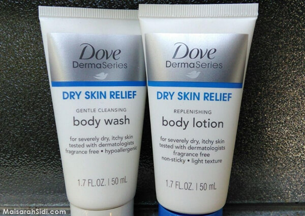 Dove Dermaseries Body Wash dan Body Lotion