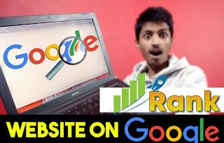 अपनी website को google के 1 पेज पर  केसे rank करवाये ?