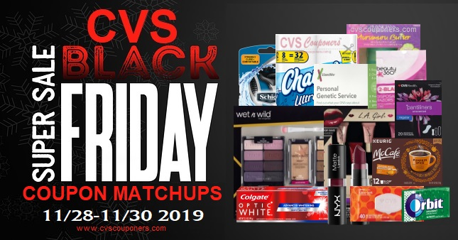 CVS Couponers Black Friday Deals 1128-1130