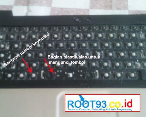 Bantalan karet tombol keyboard