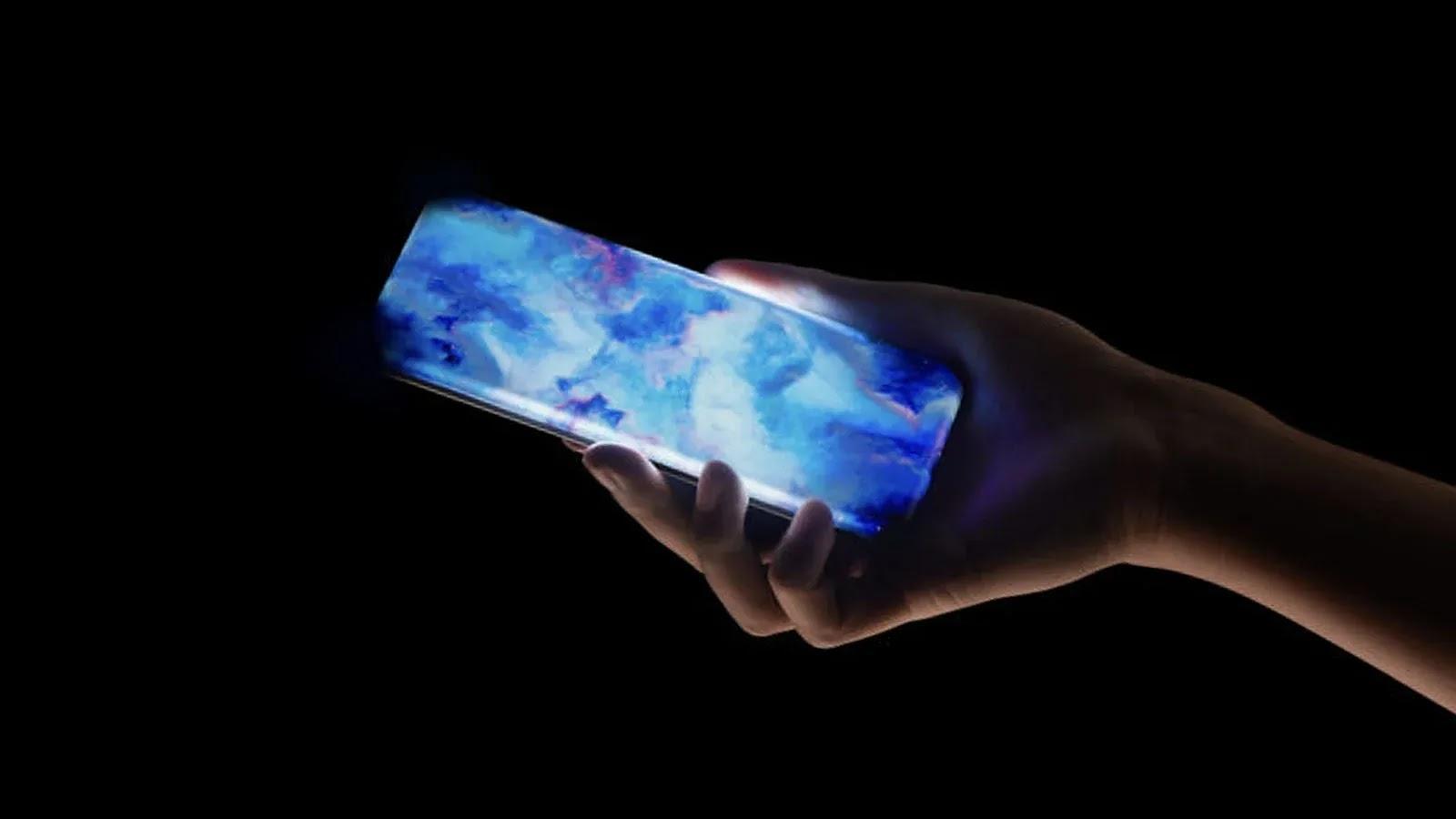 تعرض شاومي هاتفها ذو شاشة عرض الشلال الرباعي المنحني