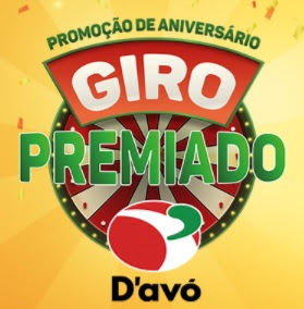 Promoção D'Avó Giro Premiado Aniversário 2017 Comprou Girou Ganhar