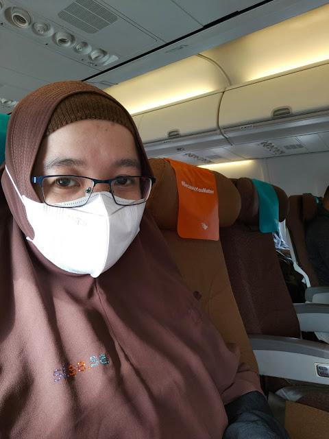 Seat Distancing Garuda Indonesia