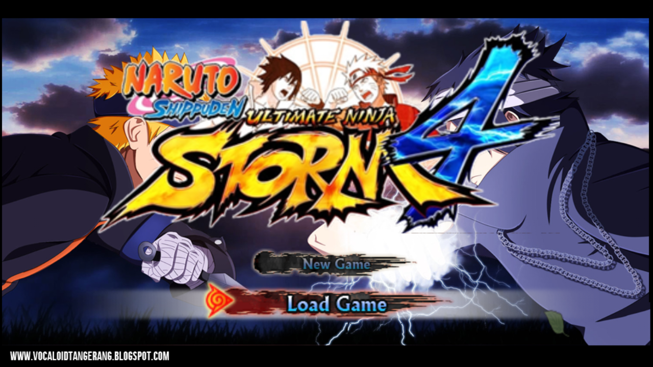 naruto shippuden ppsspp
