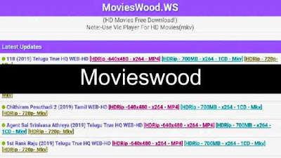 Movieswood Download Illegal Tamil, Telugu, Latest Movies wood com Website Movies News