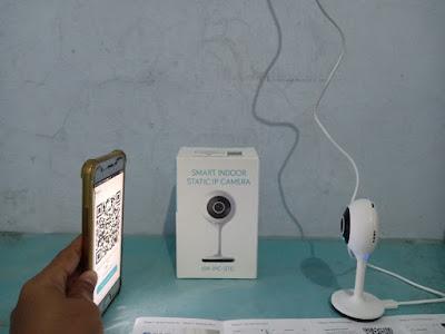 scanning bardi smart indoor static ip camera