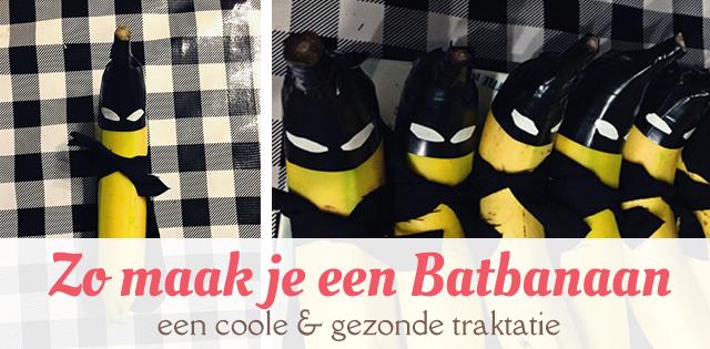 De Batbanaan Een Gezonde Batman Traktatie Mizflurry