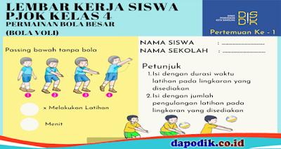 Modul Pembelajaran Daring dan Luring PJOK Kelas 4 Sekolah Dasar (SD)