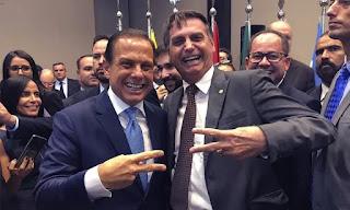 Bolsonaro admite votar em em Lula para não eleger Doria