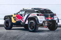 Peugeot 3008DKR Maxi 2018 Rear Side