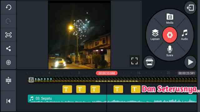 √ Cara Membuat Video Lirik Lagu di KineMaster Untuk Pemula ...