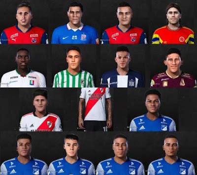 PES 2021 Colombia Facepack by OliverT & Mrk